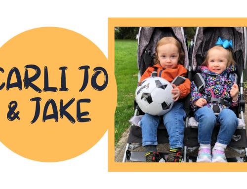 Cure CF Spotlight: Carli Jo & Jake Anderson